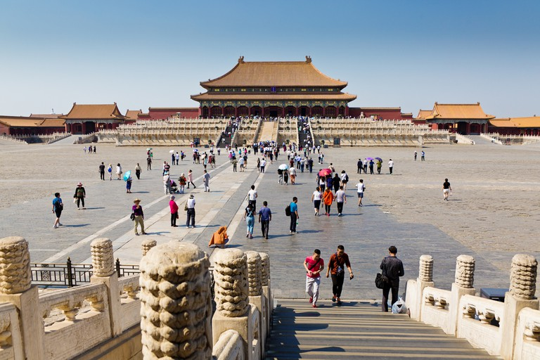 Forbidden City Palace at Beijing, China