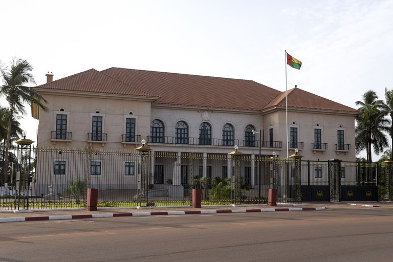The Presidential Palace, the residence of the President of Guinea-Bissau