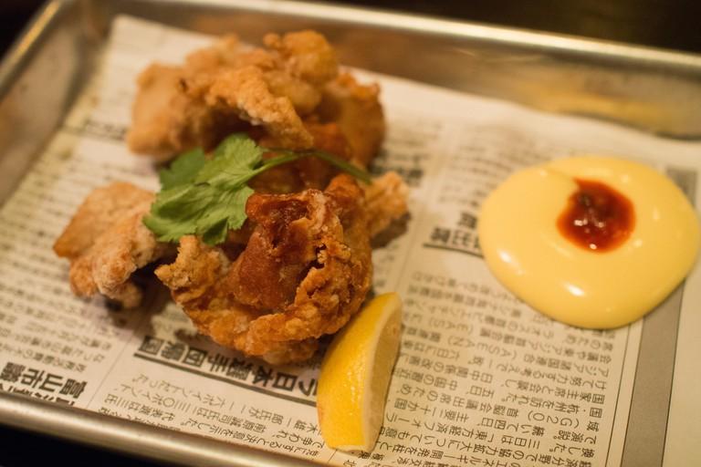 Chicken kaarage at Kemuri Tatsu-ya, a Japanese izakaya in Austin, Texas Explore Austin's diverse range of delicious food on this secret food tour