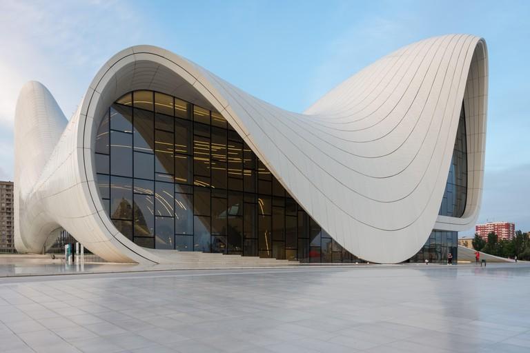 Heydar Aliyev Center, Baku, Azebaijan.