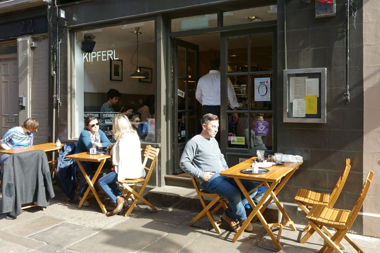 Kipferl Viennese coffee shop and restaurant, Islington, London