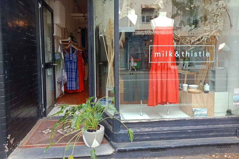 Milk and Thistle store on King St
