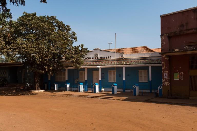 Casa dos Direitos in Bissau Velho, Guinea Bissau.