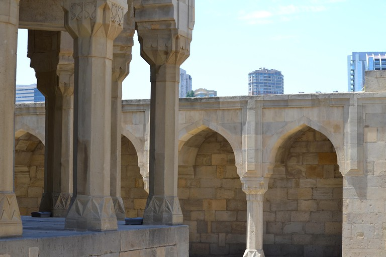 Palace of the Shirvanshahs in the old town of Baku, capital city of Azerbaijan