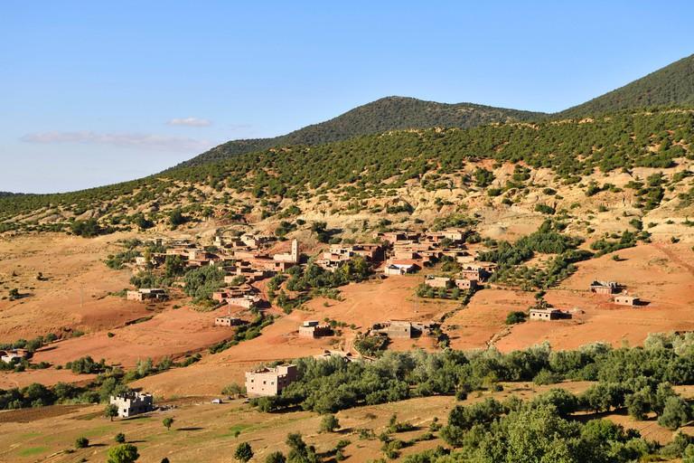 Morocco, High Atlas, Toubkal National Park, Ourika valley