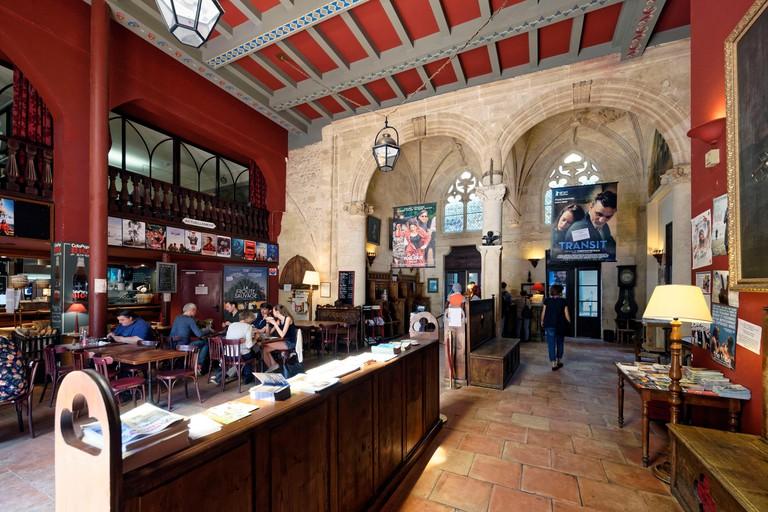 Cafe and cinema Utopia