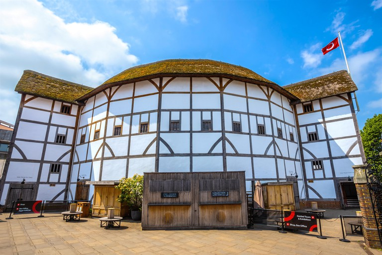 Shakespeare's Globe is a reconstruction of the Globe Theatre, associated with William Shakespeare, in the London Borough of