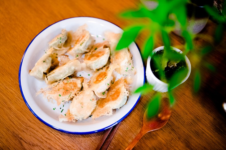 Dumplings at Lady Bao