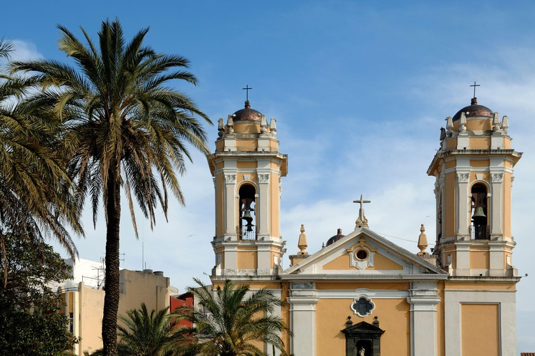 Cathedral of Saint Maria de la Asuncion Ceuta Spain.