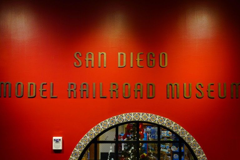 SAN DIEGO, CA -5 JAN 2020- View of San Diego Model Railroad Museum located in Balboa Park, San Diego, California, United States.