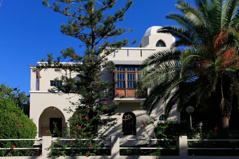 Bialik House, museum for the Hebrew national poet Hayyim Nahman Bialik in Tel Aviv Israel