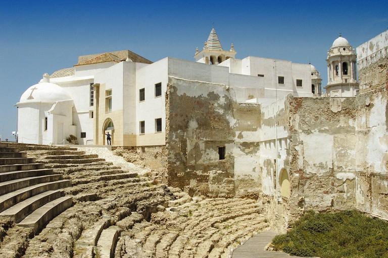Roman theatre. Cadiz. Spain