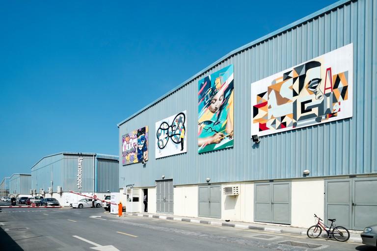 Art galleries at Alserkal Avenue