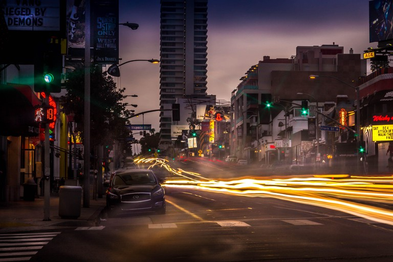 Sunset Strip - Looking West