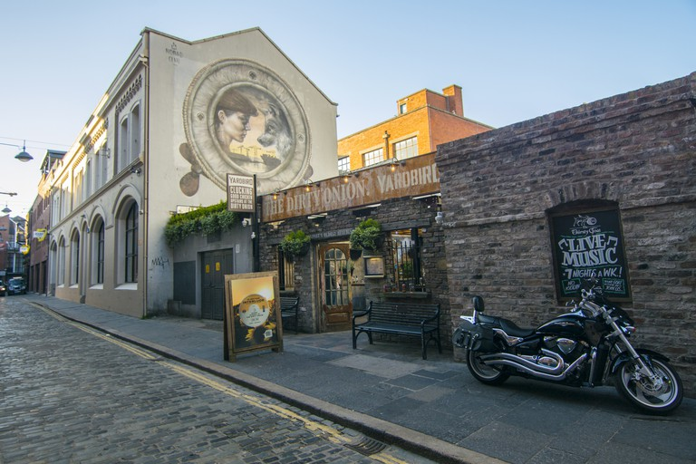 A pub in Belfast's cathedral Quarter