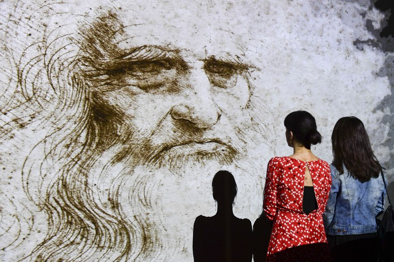 ITALY-CULTURE-ARTS-HISTORY-PAINTING-INVENTION-DAVINCI