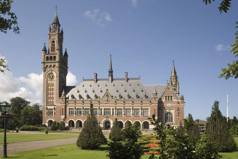 The Hague's Peace Palace, home to many international judicial institutions