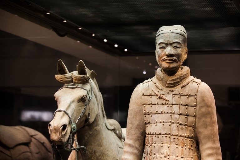 Terracotta Warriors and Horses of Qin Dynasty