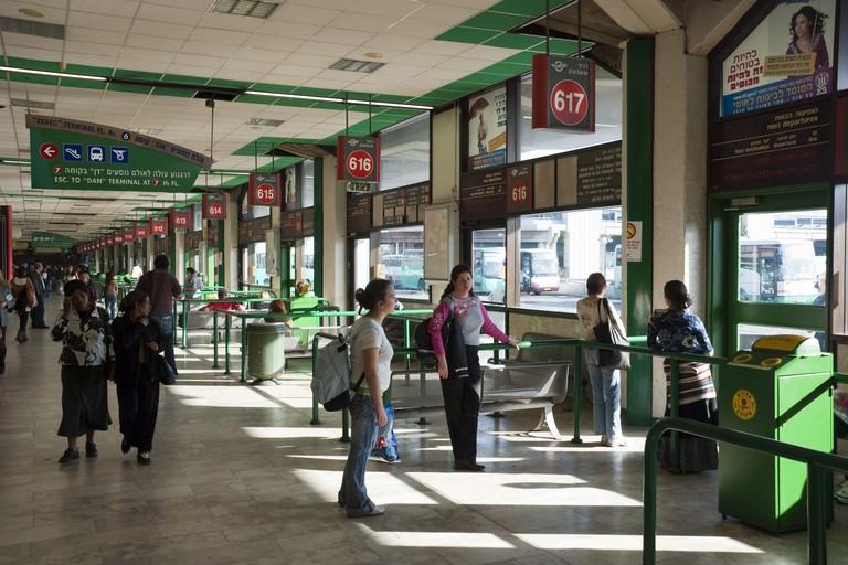 Tel Aviv Central Bus Station