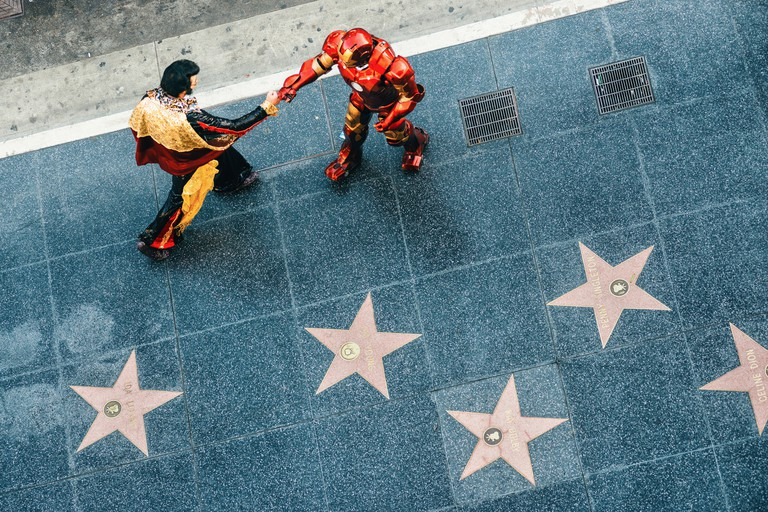 Hollywood Walk of Fame in Los Angeles