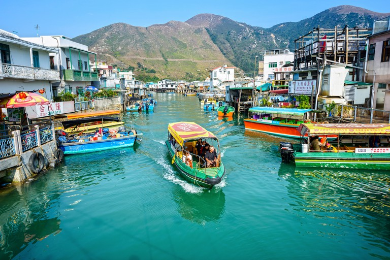 Tai O is a fishing town