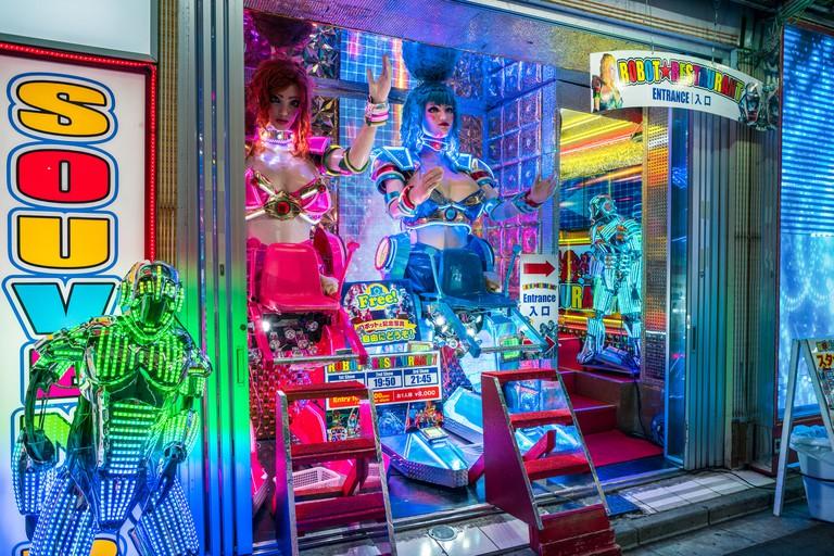 Robot Restaurant in Tokyo, Japan