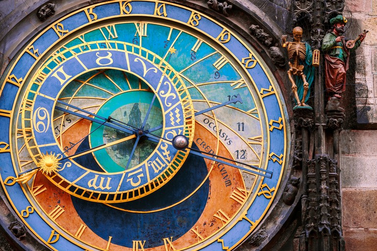 The Astronomical Clock was first installed in 1410, it's the third oldest astronomical clock in the world and the oldest one still in operation