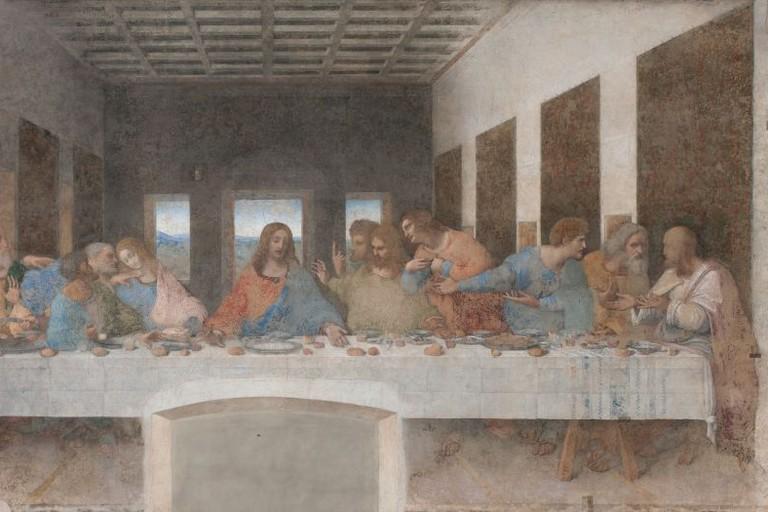 The Last Supper, 1495-1497, by Leonardo da Vinci