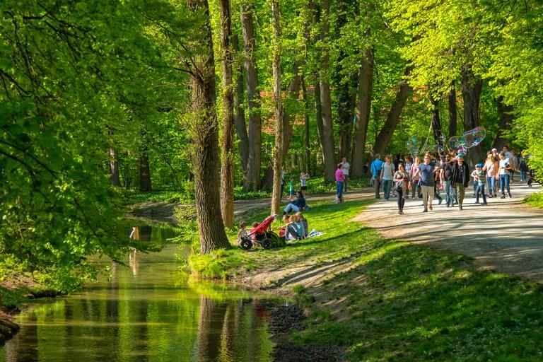Englischer Garten park in Munich