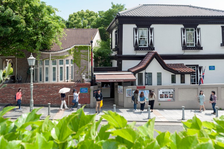 The oldest western-style building in Kitano district, Kobe, Japan