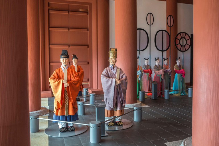 Osaka city History Museum, Japan.