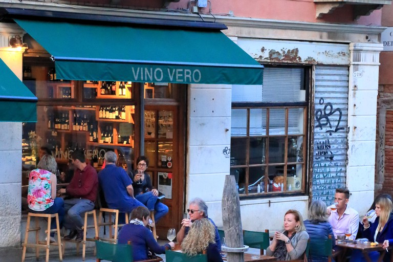 Vino Vero wine bar in Cannaregio