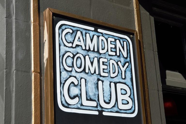 The Camden Comedy Club, Camden Town, London.