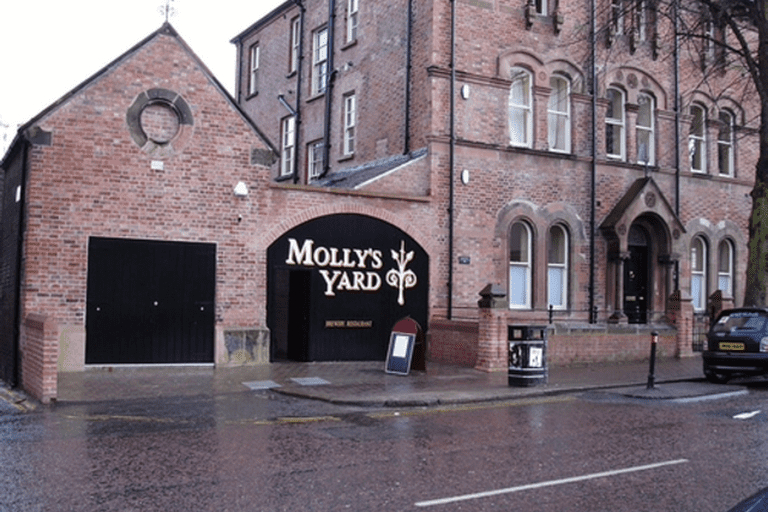 Molly's Yard restaurant in Belfast