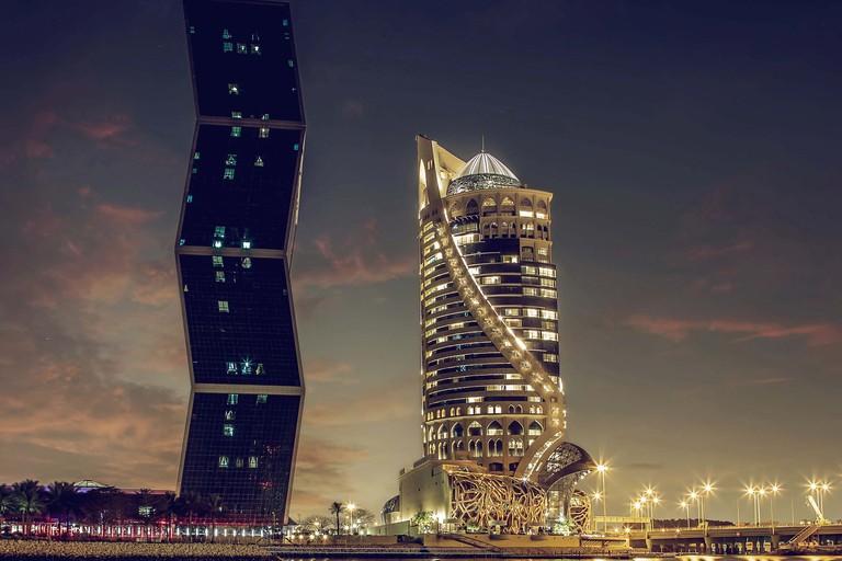 Mondrian Hotel and Zigzag Tower Doha