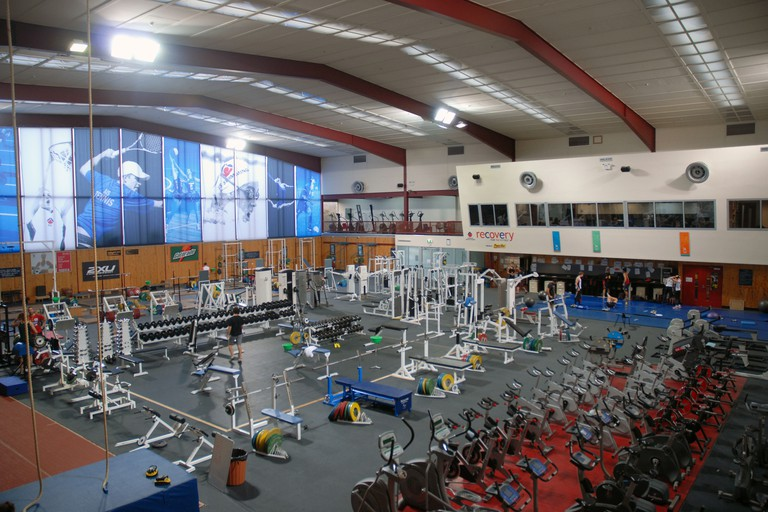 The Gym, The Australian Institute of Sport (AIS), Canberra, ACT, Australia.