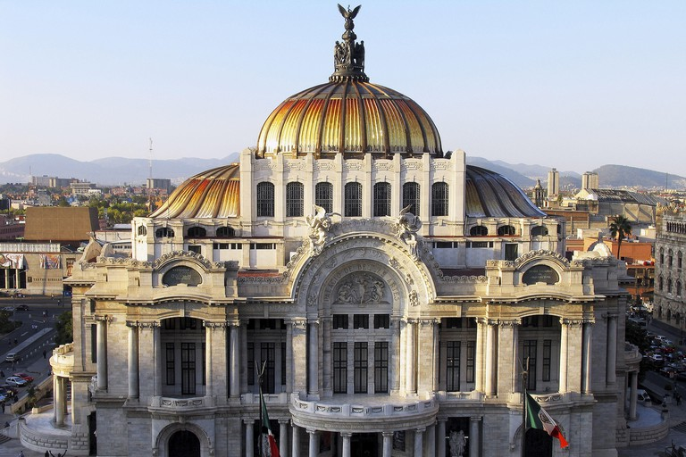 Palacio de Bellas Artes, Mexico City. Mexico