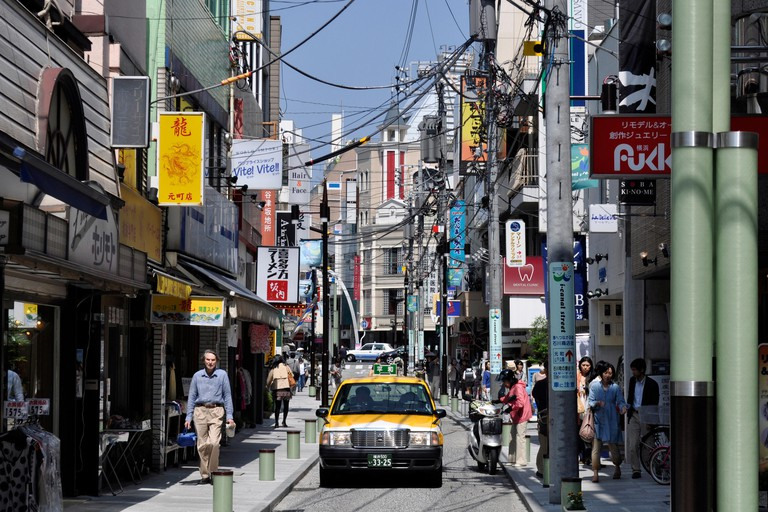 Motomachi Shopping Street, Yokohama, Japan.