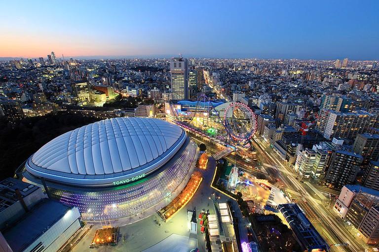 Tokyo Dome Blue
