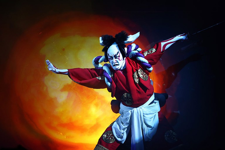 Kabuki Superstar And Virtual Diva Bring Traditional Art To A New Stage In Tokyo