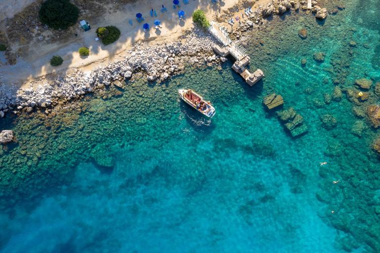 Greece, Rhodes, Anthony Quinn Bay