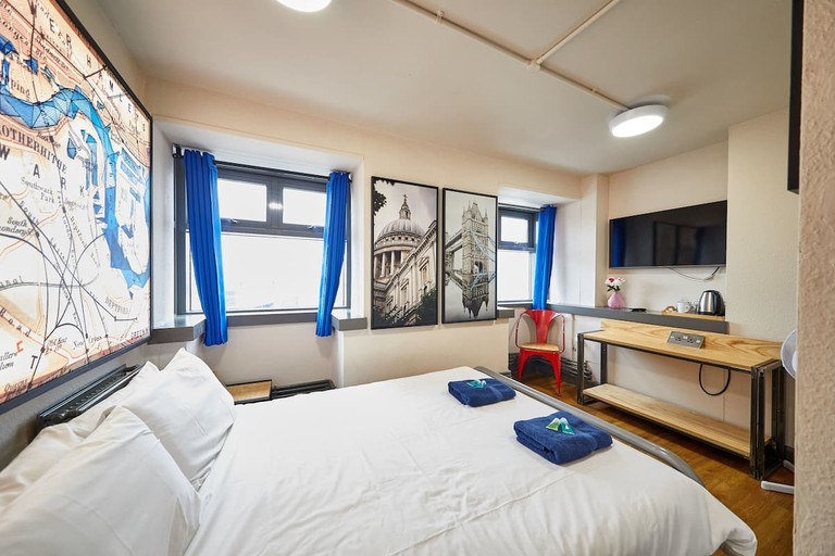 Double room at St Christophers Inn