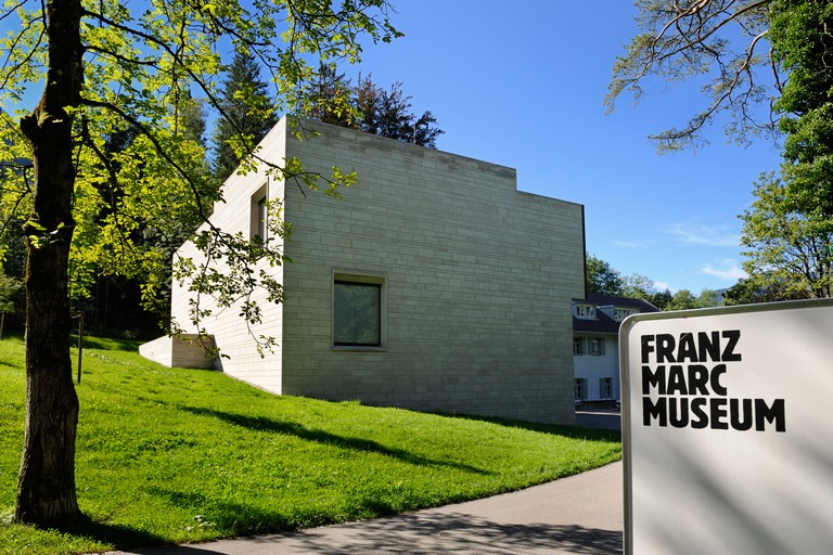 Franz Marc Museum, Kochel, Upper Bavaria, Bavaria, Germany, Europe