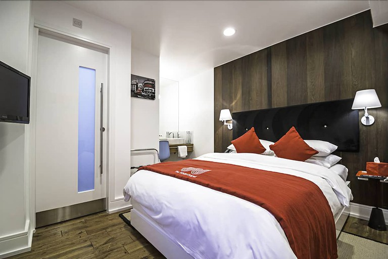 Double room at The Whitechapel Hotel