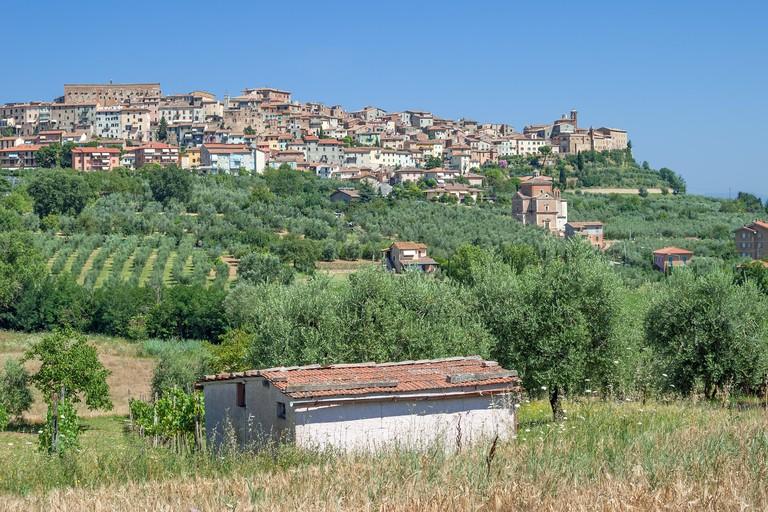 Chianciano Terme, Siena Province, Tuscany.