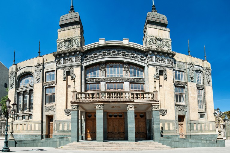 Akhundov Azerbaijan State Academic Opera and Ballet Theater in Baku.