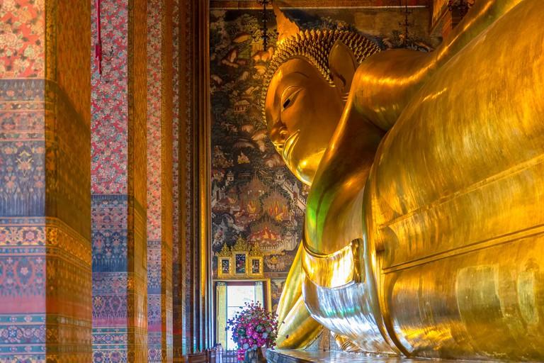 Big Buddha at Wat Pho, Bangkok, Thailand