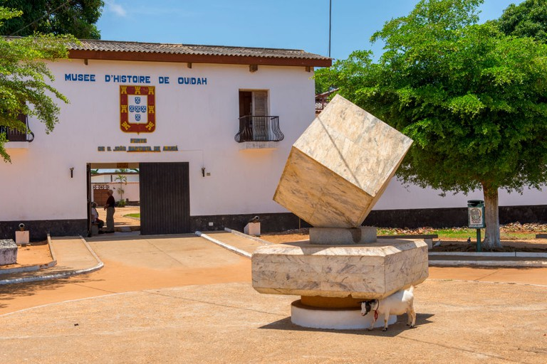 Ouidah Museum of History in old fortress in Ouidah, Benin