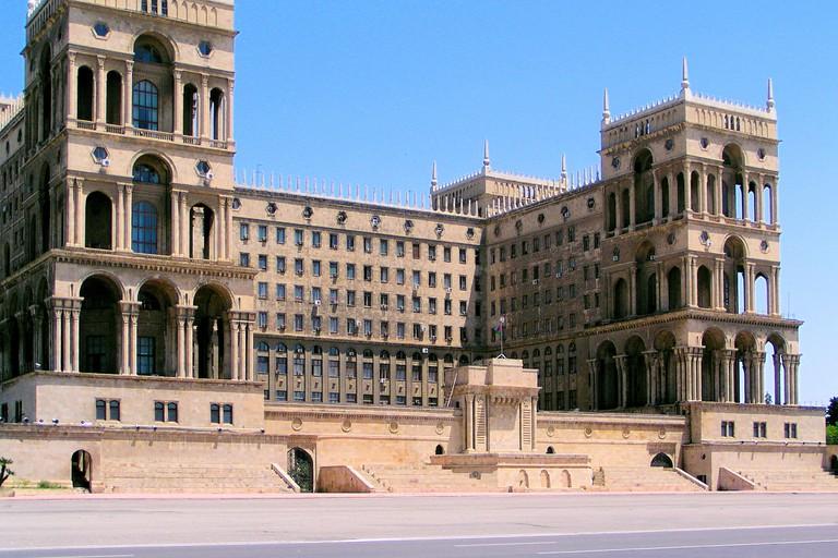 Baku, Azerbaijan: Government House