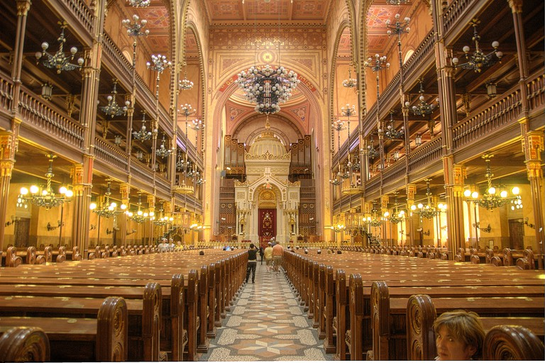 Dohany Synagogue in Budapest